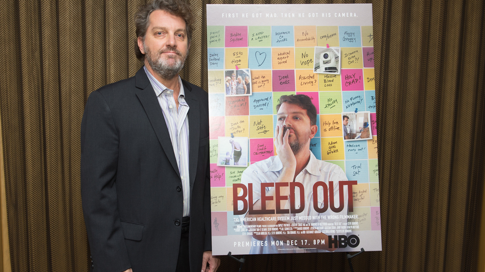 In <em>Bleed Out, </em>filmmaker and comedian Steve Burrows documents the 10-year odyssey of trying to figure out what went wrong when his mom went in for a hip replacement surgery and came out with brain damage and mobility issues after a weeks-long coma.