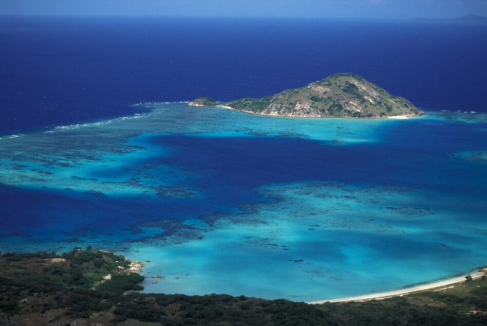 Researchers studied the carbon storage of deep-water seagrasses living at Lizard Island, Australia. (Education Images/UIG via Getty Images)