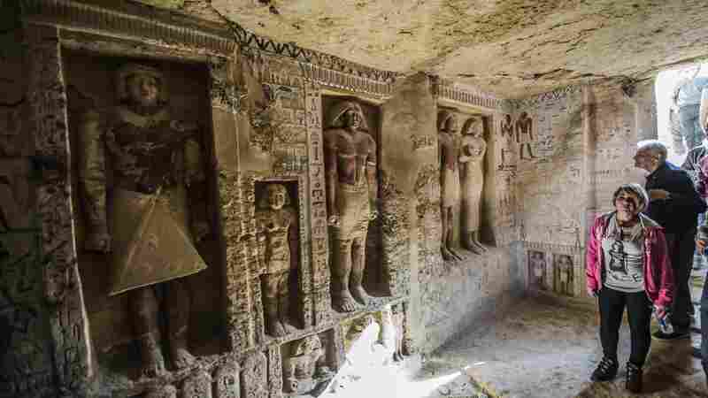 After More Than 4,000 Years, Vibrant Egyptian Tomb Sees The Light Of Day