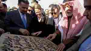 Iraq Lays Cornerstone To Restore Al-Nuri Mosque, As Mosul Rebuilds