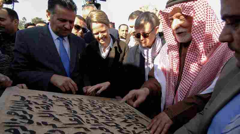 Iraq Lays Cornerstone To Restore Al-Nuri Mosque, As Mosul Rebuilds