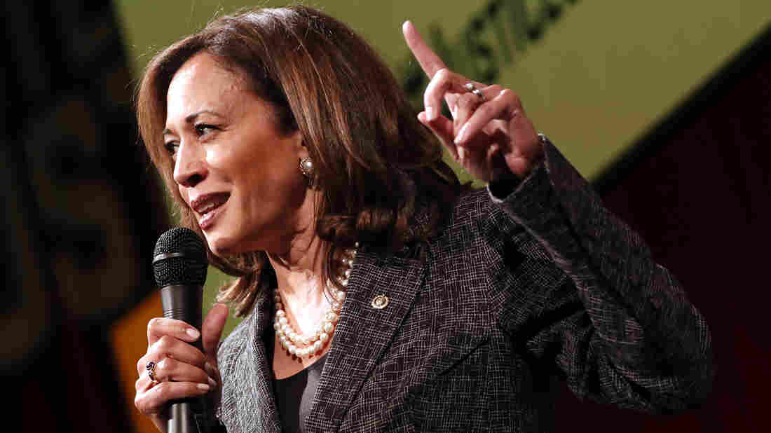 Kamala Harris hopes to make history with 2020 U.S. presidential bid