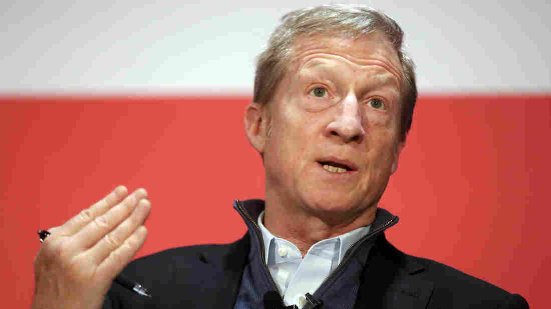 Billionaire Tom Steyer will not run for president in 2020