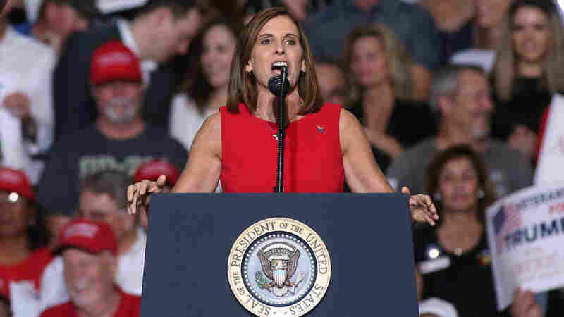 Republican Martha McSally Picked To Fill Senate Seat Formerly Held By John McCain