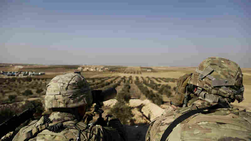 White House Orders Pentagon To Pull U.S. Troops From Syria