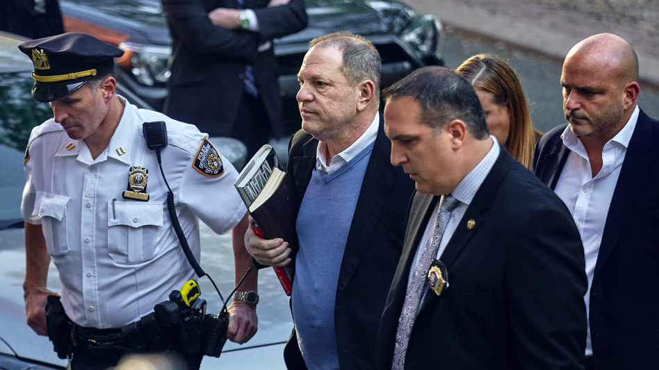 In May, Harvey Weinstein turned himself in to police following allegations by several women of sexual misconduct. (Andres Kudacki/AP)