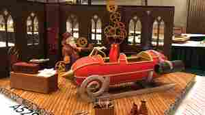 Gingerbread Cred: Bakers Craft Winning Edible Art Down To The Last Detail