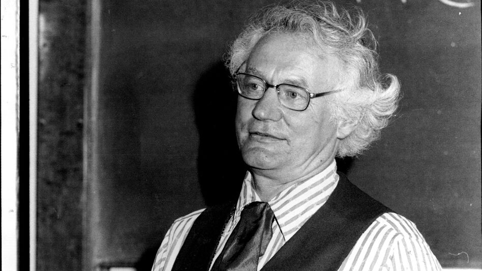 Robert Bly, pictured here in 1980, is known as the chief proponent of the Men's Movement of the 1990s. But in the poetry world, he's known for emotionally charged work about nature, the Vietnam War and personal unburdening.