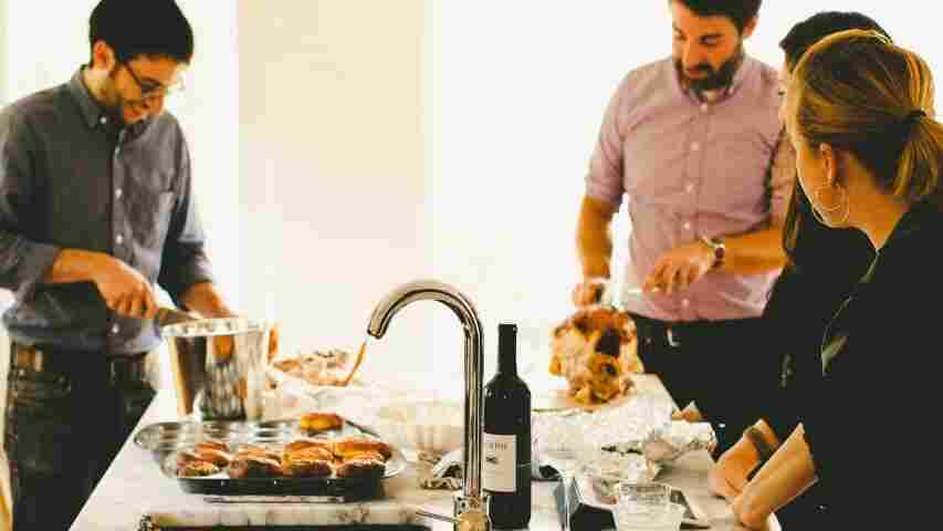 Like Moths To A Flame: Why Modern-Day Guests Always Gather In The Kitchen