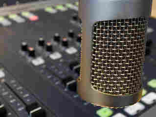 Microphone radio