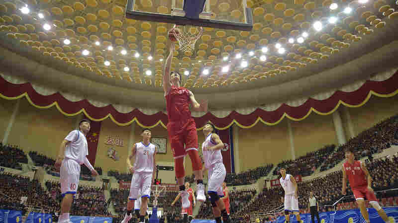 North Korea Promotes Basketball As 'An Important Project'
