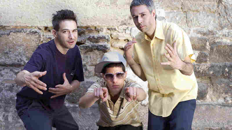 "The Beastie Boys, from left, ""Ad-Rock"" (Adam Horovitz), ""Mike D"" (Michael Diamond) and ""MCA"" (Adam Yauch) pose in Paris in 2004."