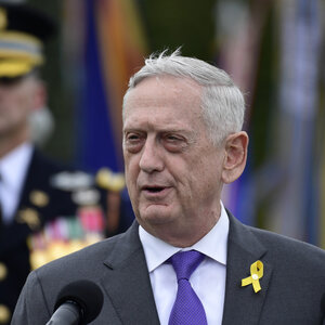 Trump Says Jim Mattis Will Leave By Jan. 1, Announces Acting Defense Secretary
