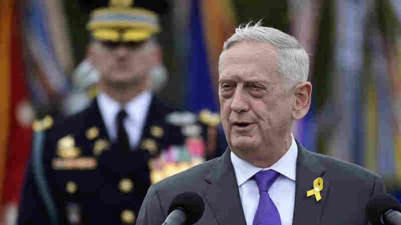 Trump Says Jim Mattis Will Leave By Jan. 1, Announces Acting Defense Secretary