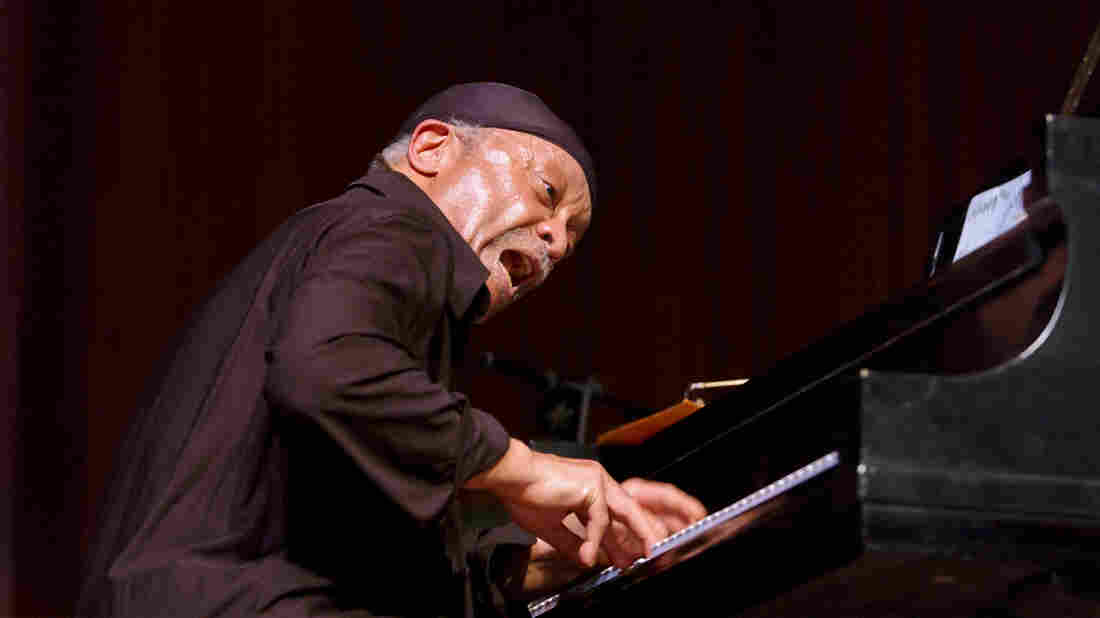 Cecil Taylor performs at Lincoln Center in 2002.