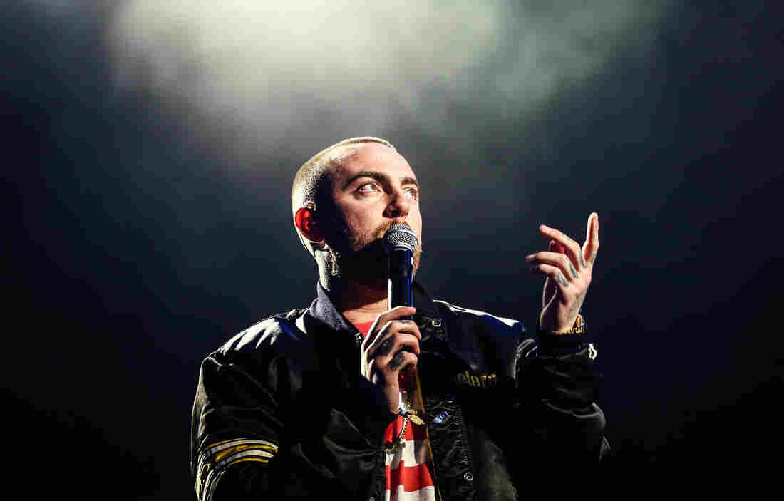 Mac Miller performs in Los Angeles in 2017.