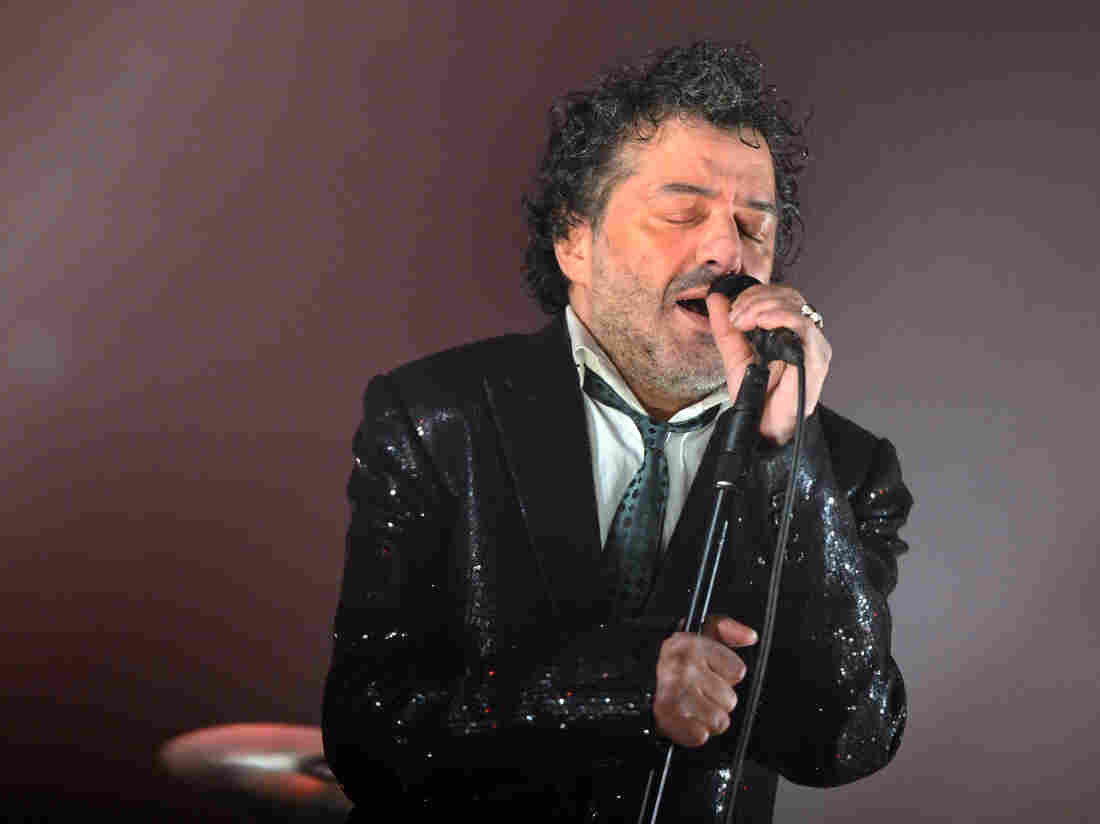 Rachid Taha performs in France in 2012.