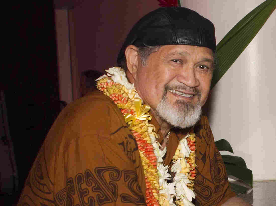 Cyril Pahinui in Hawaii in 2012.