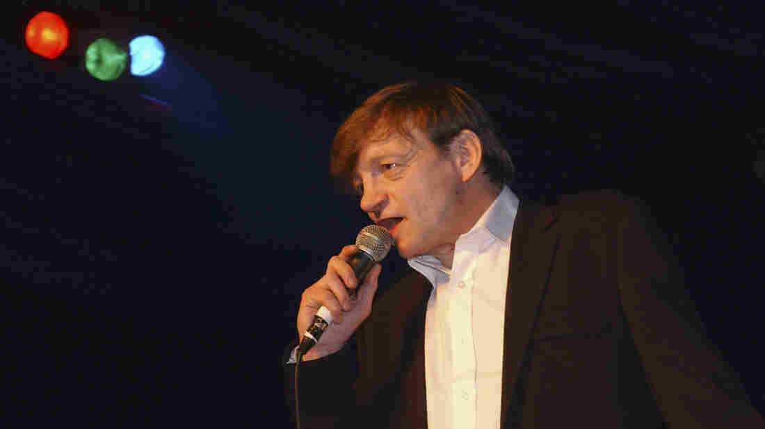 Mark E. Smith performs with The Fall in London in 2007.