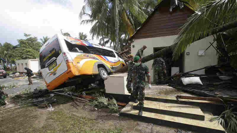 Rescue Efforts Underway After Tsunami Hit Indonesia Without Warning