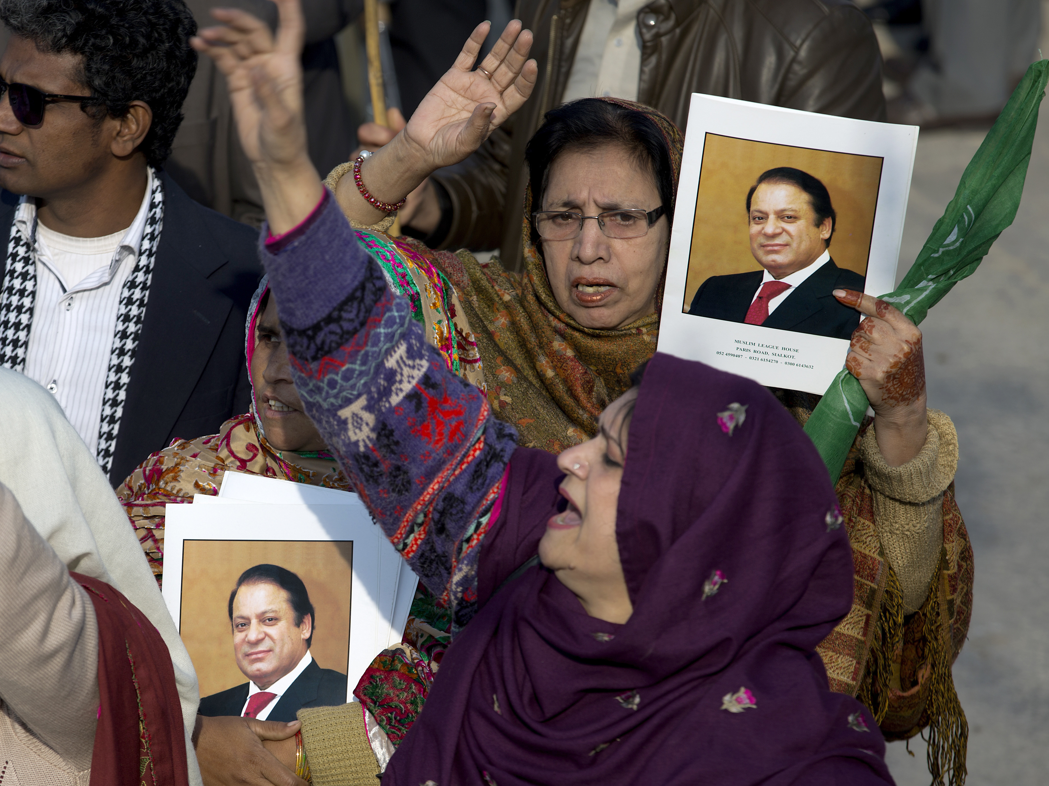 Pakistan's Ex-Prime Minister Sharif Sentenced To 7 Years In Latest Corruption Case
