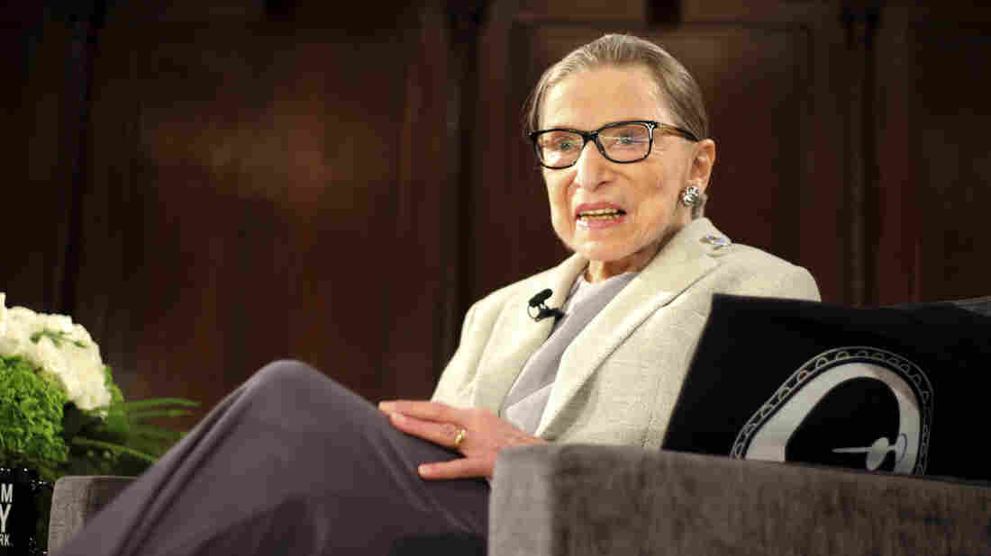 Ruth Bader Ginsburg 'Up and working'