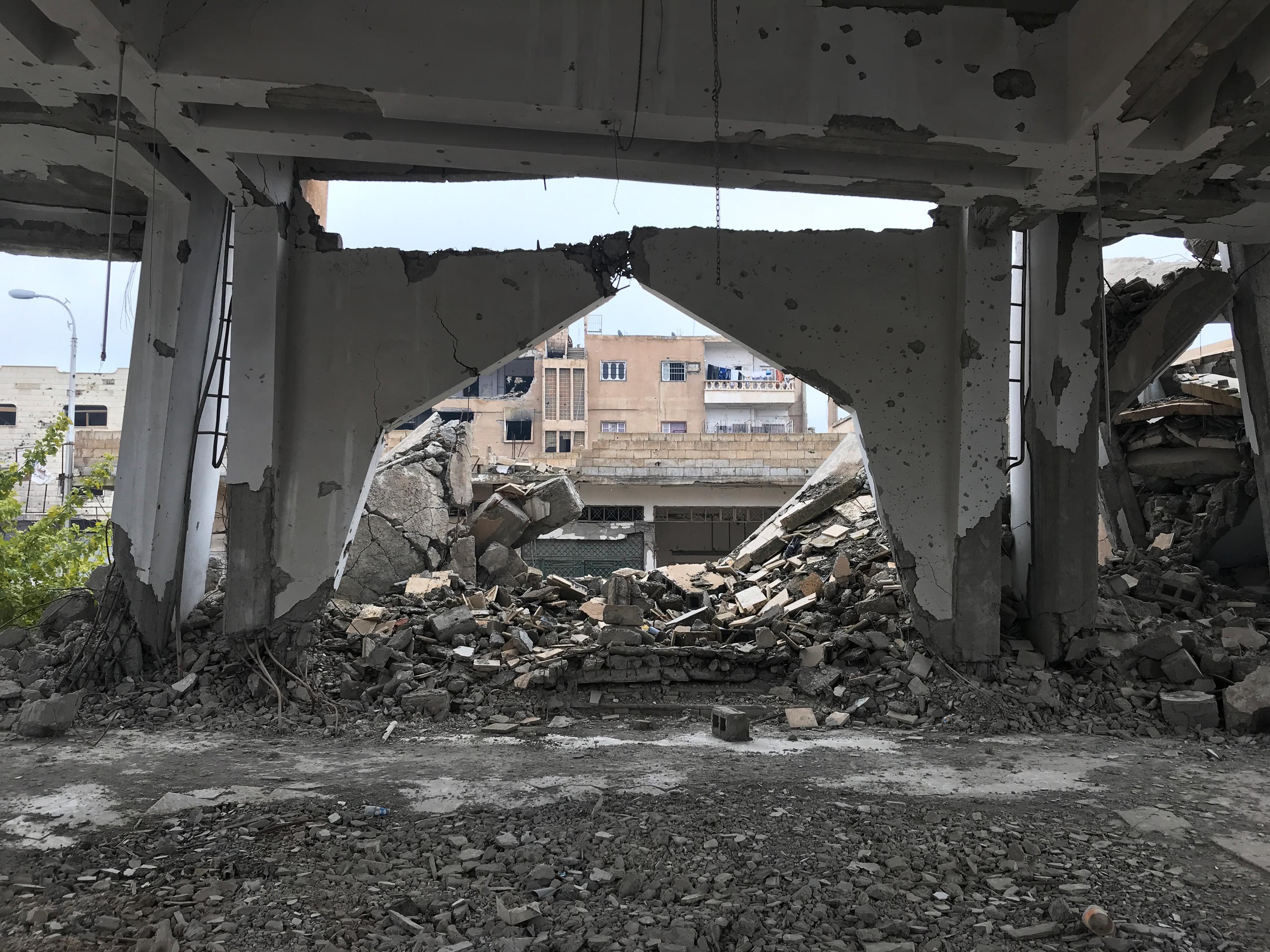 Determined To Seek An Education, Teenagers In Raqqa, Syria, Create Their Own School