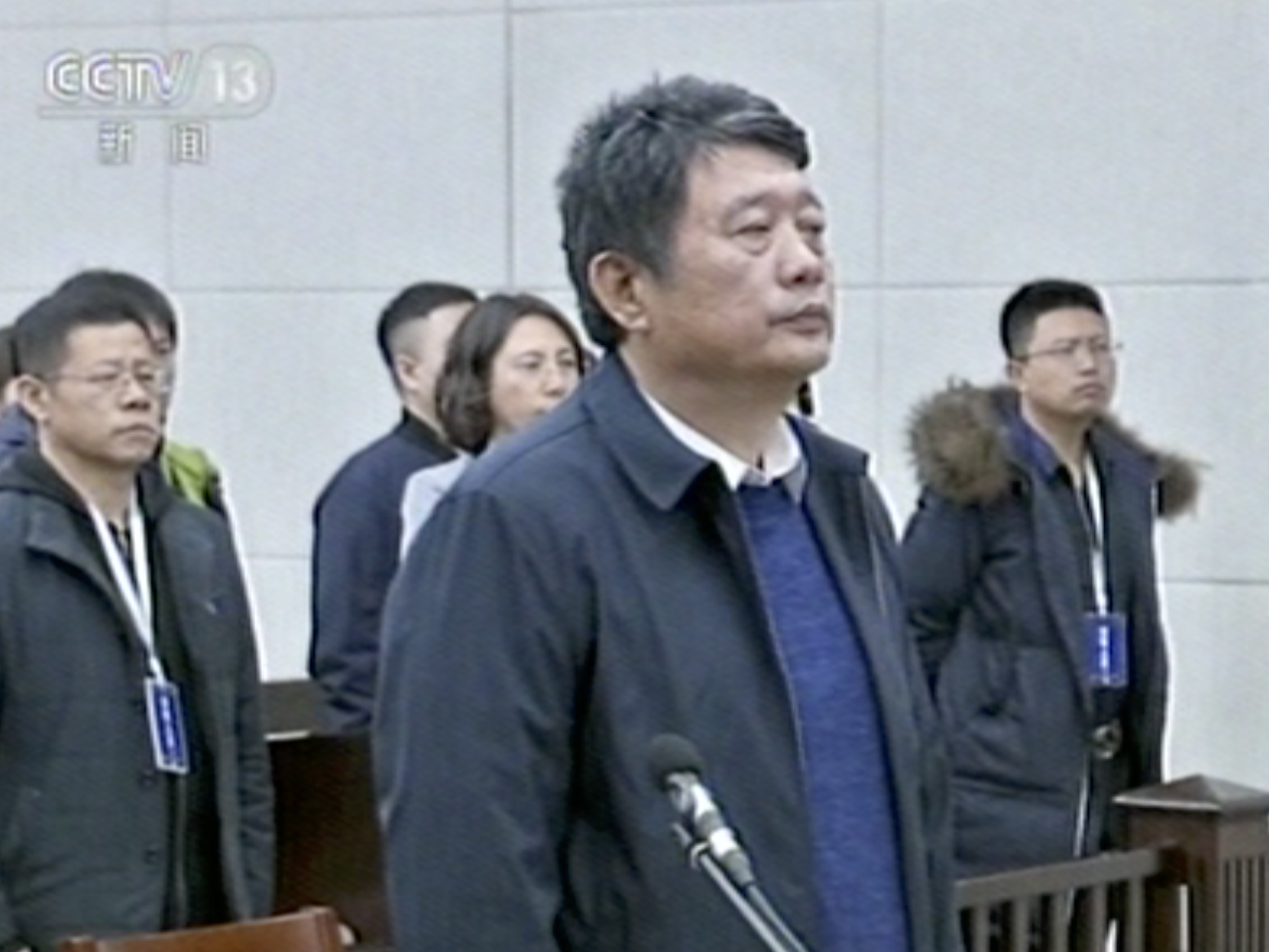 Former Head Of Chinese Counterintelligence Sentenced To Life In Prison