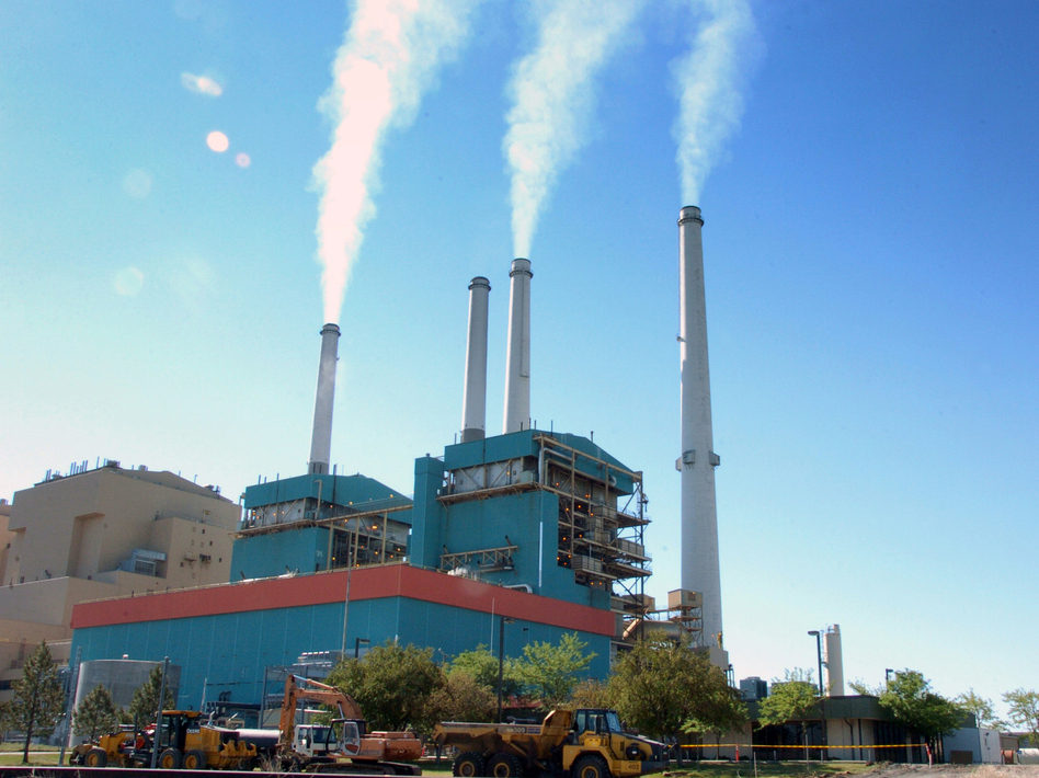 """The Trump administration EPA says regulations to reduce power plant emissions of mercury and other hazardous air pollutants are too costly and should no longer be considered legally """"appropriate and necessary."""" (Matt Brown/AP)"""