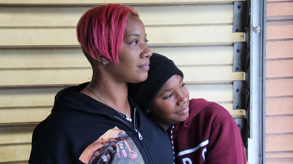 Collette Williams and her son SaVaughn live a few blocks from the Clairton Coke Works. Pollutants from the plant exceed local limits, and Williams believes that exacerbates her son