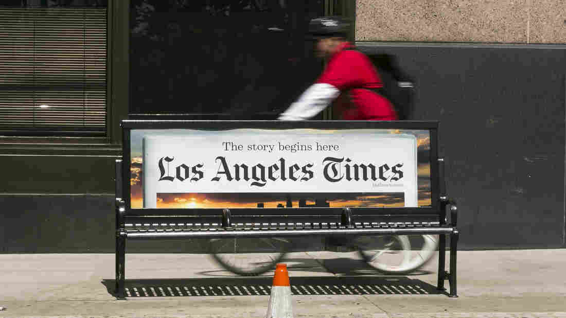Computer virus hits Tribune Publishing, Los Angeles Times