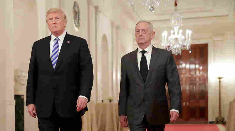 'Keep The Faith In Our Country And Hold Fast,' Mattis Tells Defense Department