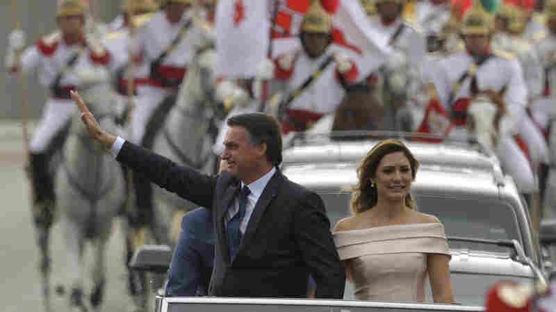 Right-Wing Populist Jair Bolsonaro Sworn In As President Of Brazil