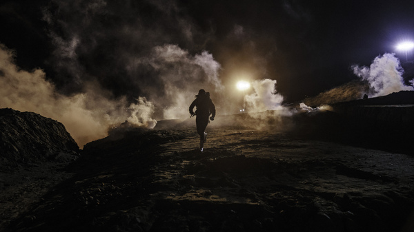 US Agents Fire Tear Gas At Migrants Trying To Cross Mexico Border