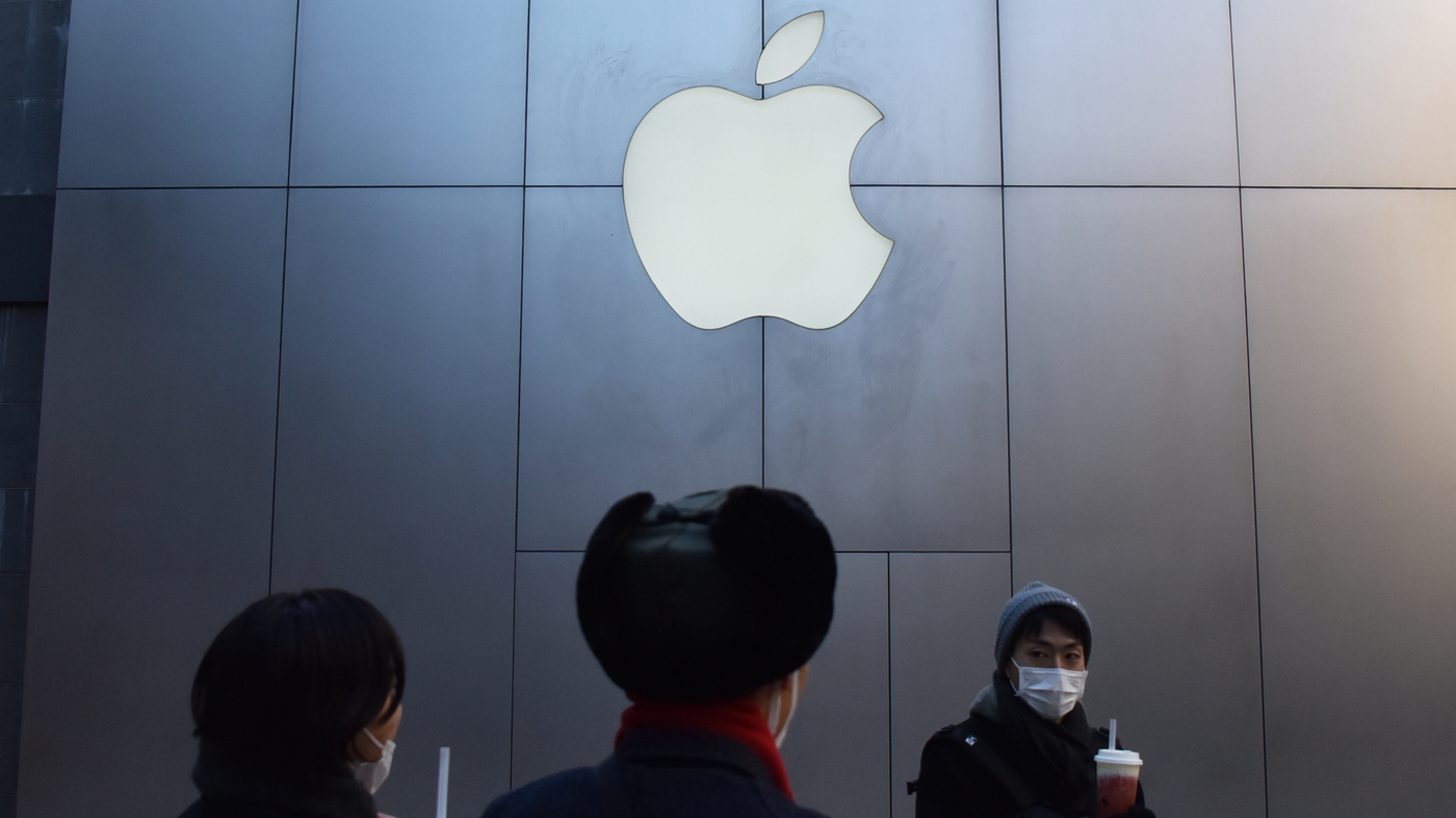 how to tell if an iphone has water damage china takes wind out of apple iphone sales npr 8588