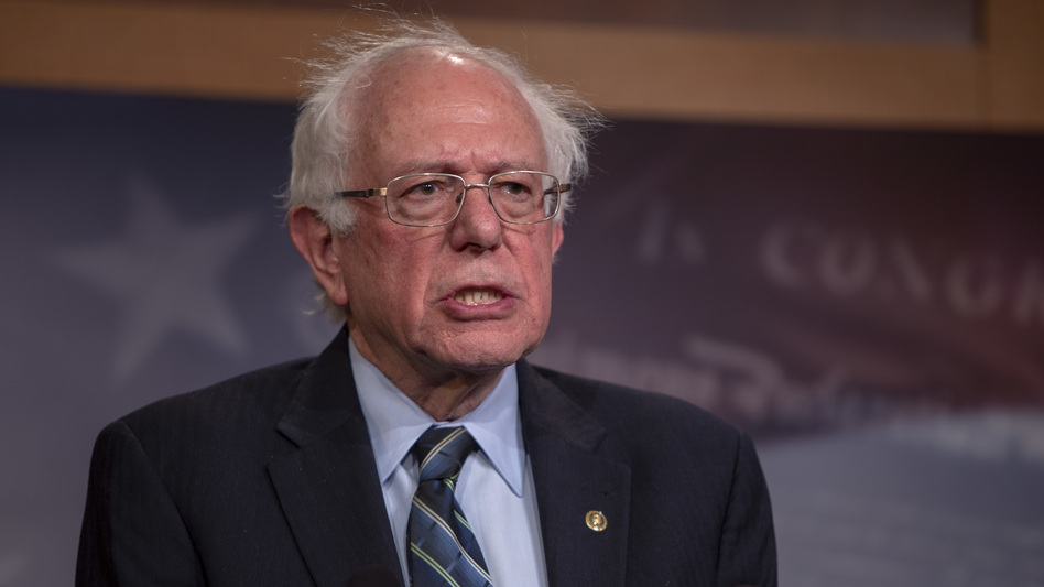 Sen. Bernie Sanders, I-Vt., offered an apology on Wednesday after allegations were made public of sexual harassment and discrimination on his 2016 campaign. (Tasos Katopodis/Getty Images)