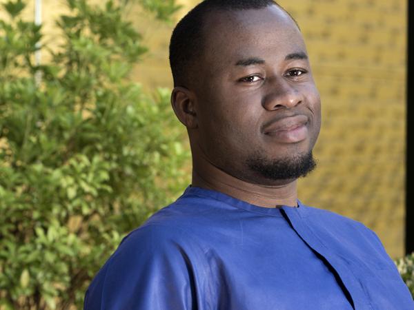 Author Chigozie Obioma