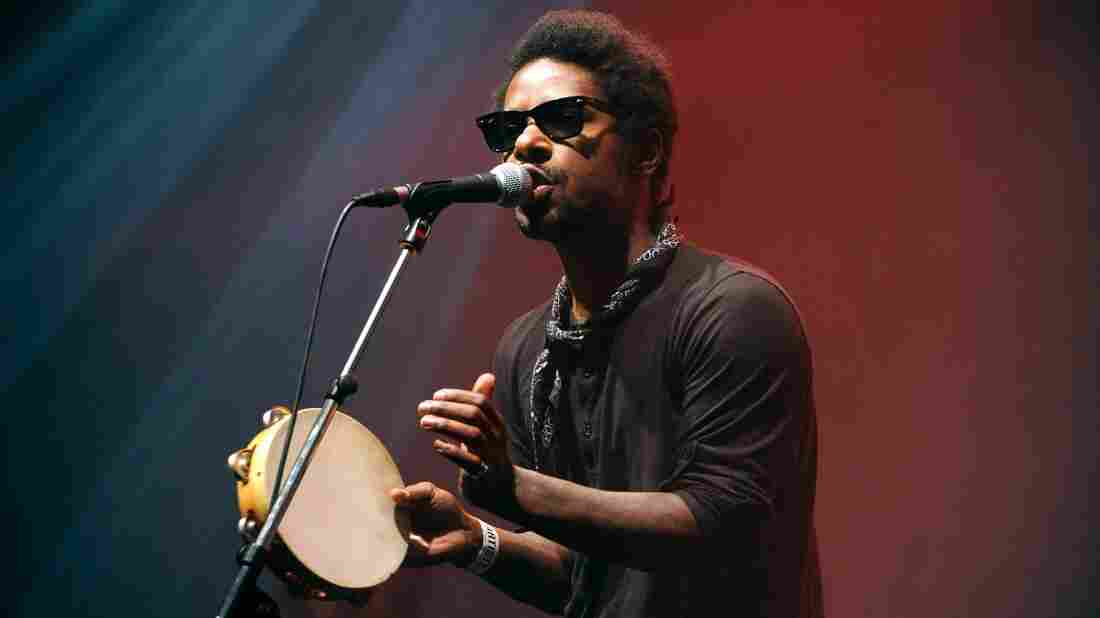 Curtis Harding at the Trans Musicales music festival in 2014.