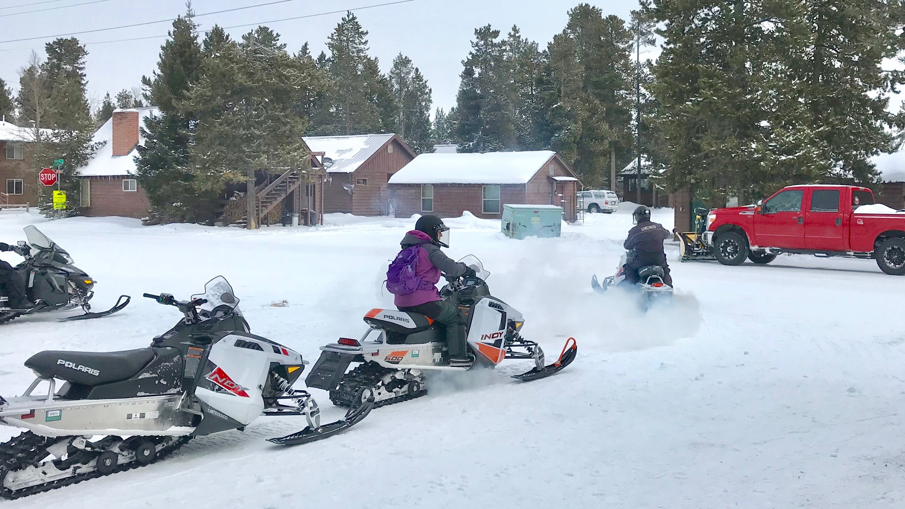 Private Companies Are Paying To Keep Roads Groomed Bathrooms Cleaned In Yellowstone Npr