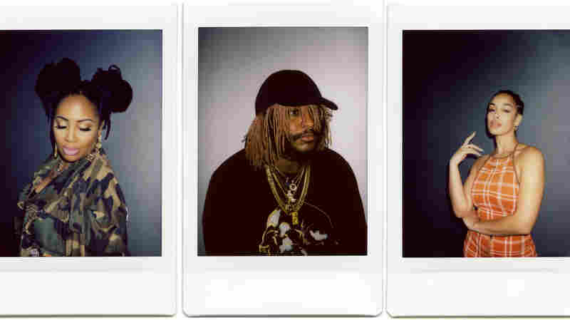 Instant Photos Capture Tiny Desk Artists Offstage, 'Flaws, Dust Specks and All'