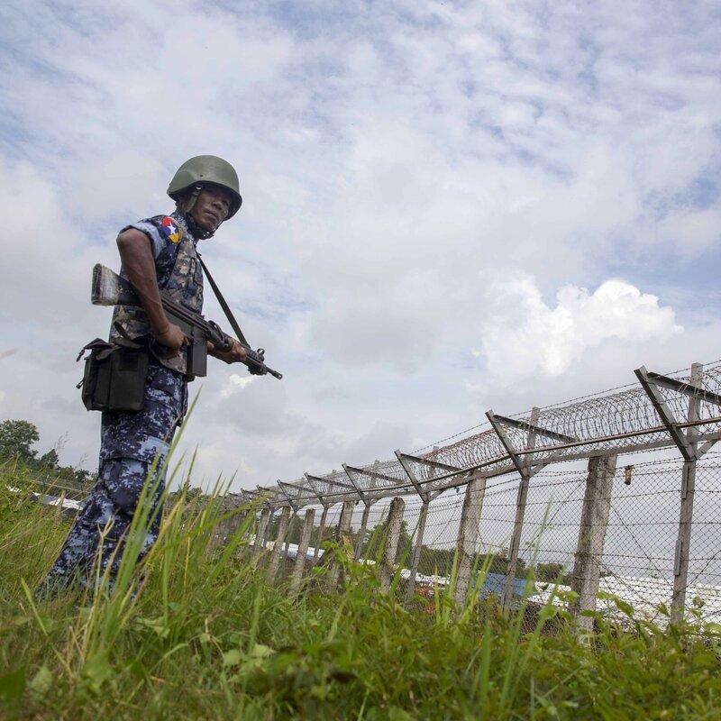 Amid Renewed Violence In Myanmar's Rakhine State, Arakan