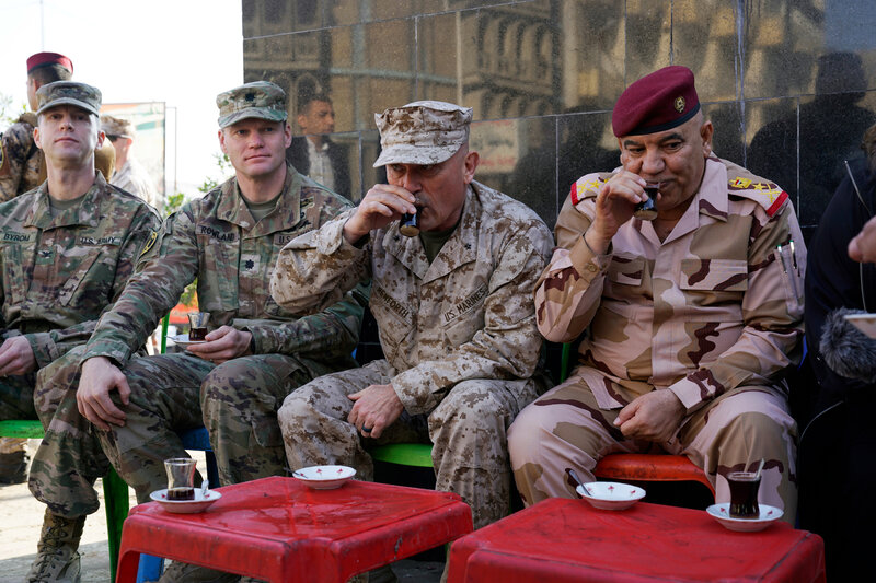 A U.S. Commander Went For A Rare Stroll In Baghdad. Many Iraqis Just ... 25371ff402edd