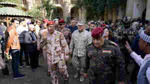 A U.S. Commander Went For A Rare Stroll In Baghdad. Many Iraqis Just Shrugged