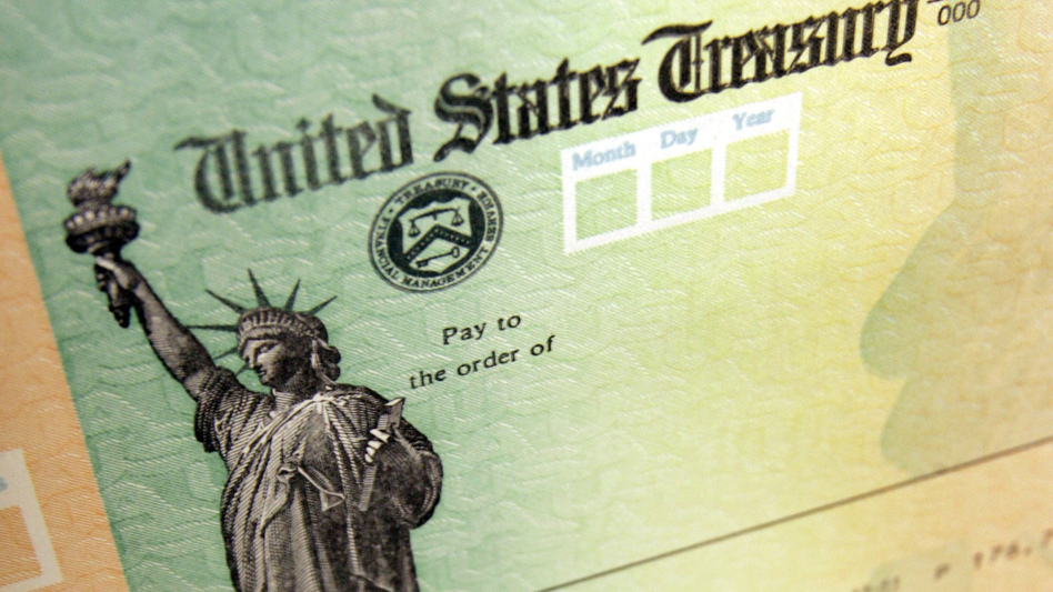 The White House says tax refund checks will go out despite the partial government shutdown. (Matt Rourke/AP)