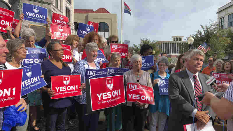 Missouri Voters Backed An Anti-Gerrymandering Measure; Lawmakers Want To Undo It