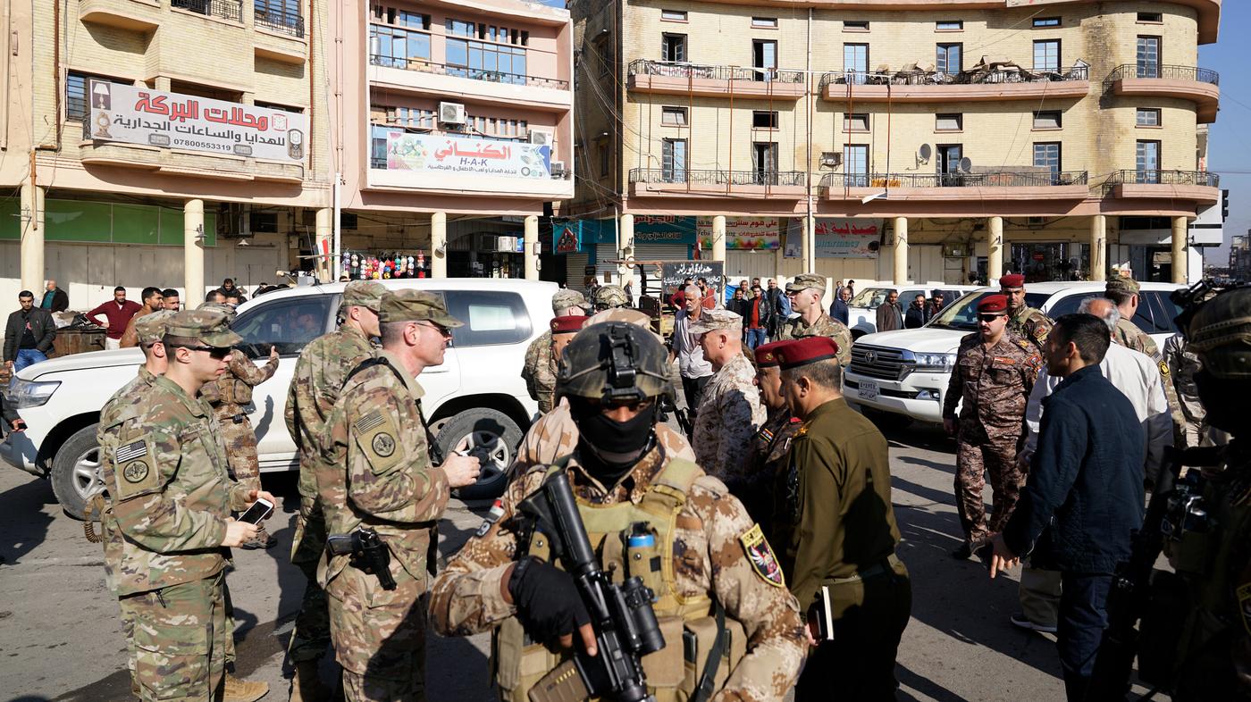A U.S. Commander Went For A Rare Stroll In Baghdad. Many Iraqis Just  Shrugged   NPR e48a397ec7b18