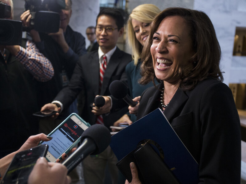 Sen Kamala Harris Considers A Collection Of Factors Related To Possible 2020 Bid Npr