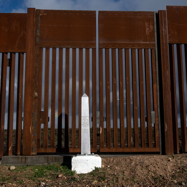 Trump Sees Border Wall As Another Boost For U.S. Steel Industry