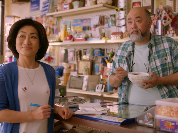 In Kim's Convenience, Umma (Jean Yoon, left) and Appa (Paul Sun-Hyung Lee) try to balance running their store and keeping up with their grown children. Season 3 of the CBC show debuts this week in Canada. The first two seasons can be streamed on Netflix.