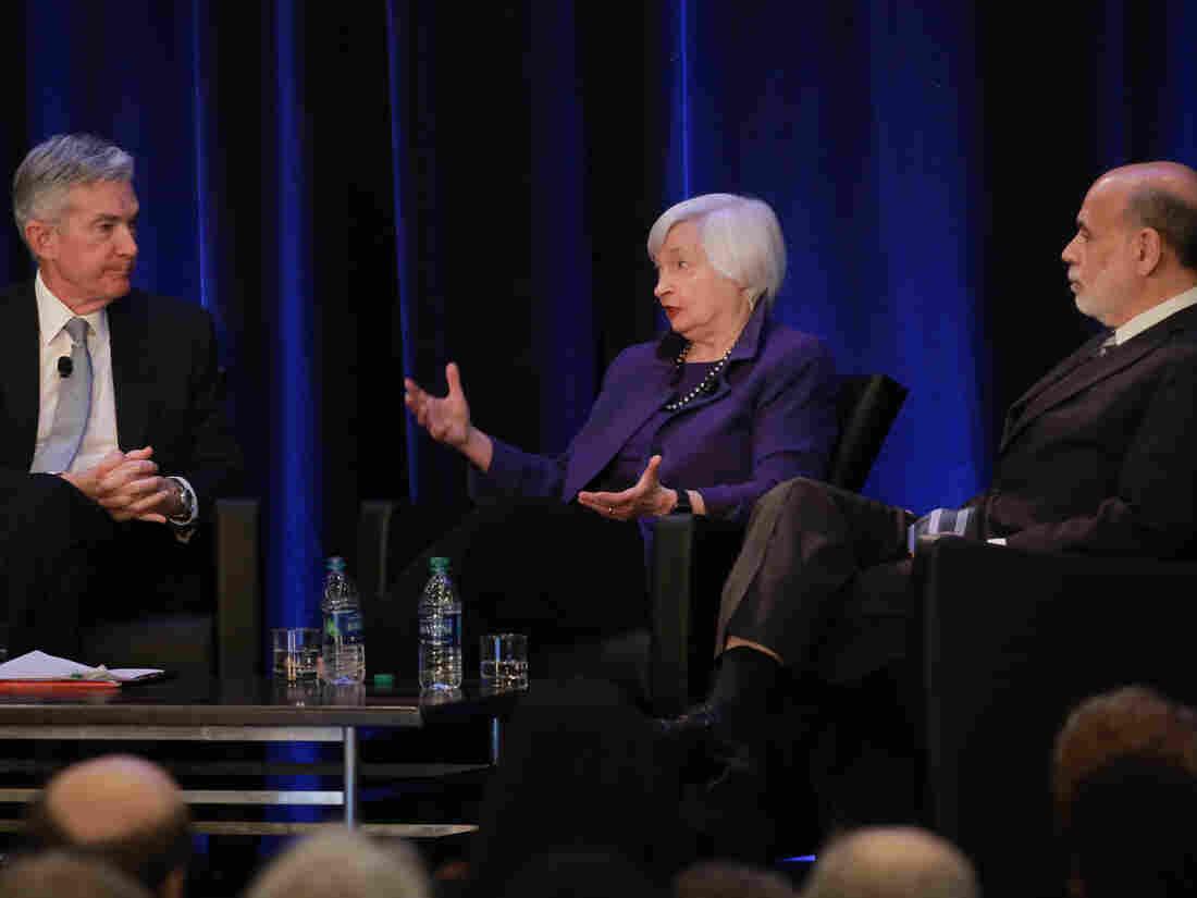 Powell, Yellen, and Bernanke, masters of the Fed.